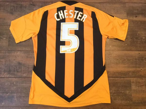 2011 2012 Hull City Chester No 5 Home Football Shirt Adults Small